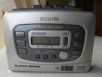AIWA personal radio/cassette player