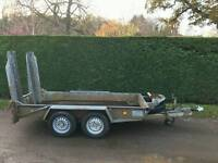 IFOR WILLIAMS GH94 BEAVERTAIL 2.7 TONNE PLANT TRAILER