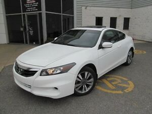 2012 Honda Accord Cpe EX+Toit ouvrant+Pnues hiver