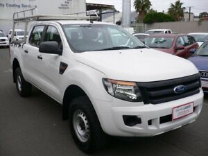 2015 Ford Ranger PX MkII XL Double Cab 4x2 Hi-Rider Clear White 6 Speed Sports Automatic Utility Melrose Park Mitcham Area Preview