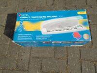 REXEL COMPACT COMB BINDING MACHINE CB105