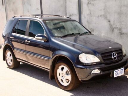 2003 Mercedes-Benz ML270 CDI Blue Sports Automatic Wagon