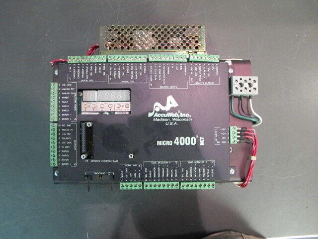 ACCU WEB 4000 CONTROLLER *USED*