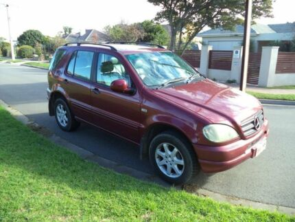 2000 Mercedes-Benz ML430 W163 MY2000 Luxury Burgundy 5 Speed Auto Seq Sportshift Wagon Somerton Park Holdfast Bay Preview
