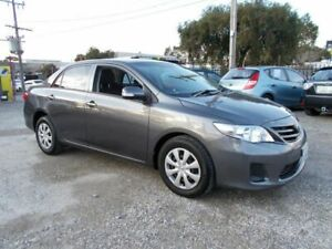 2011 Toyota Corolla ZRE152R MY11 Ascent Grey 4 Speed Automatic Sedan Bayswater North Maroondah Area Preview