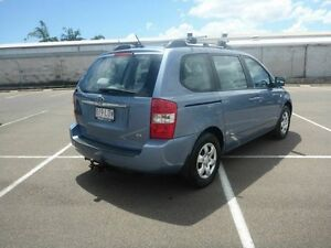 2008 Kia Carnival VQ MY08 EXE Blue 4 Speed Sports Automatic Wagon Vincent Townsville City Preview