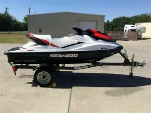 Seadoo GTS 130 + Trailer (13 hours, excellent condition).
