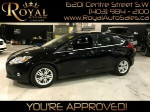 2012 Ford Focus SEL HEATED SEATS, BLUETOOTH, INT PHONE