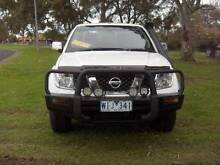08 NISSAN NAVARA D40 ST-X TURBO DIESEL 4X4 DUAL CAB UTE! Mordialloc Kingston Area Preview