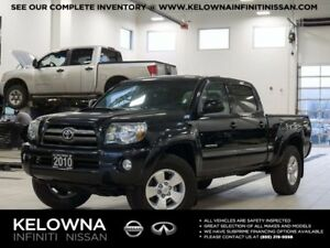 2010 Toyota Tacoma TRD Sport V6 DoubleCab 4WD w/Leather