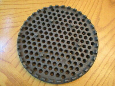Antique Enterprise 8 Qt Sausage Stuffer Lard Press Part Strainer Plate
