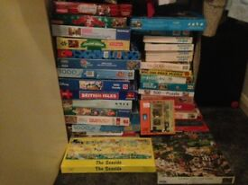 10 assorted jigsaws 500 and 1000 piece all very good condition