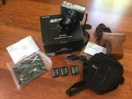 Fujifilm X-E1 (XE1) with XF 18-55 Lens - Camera