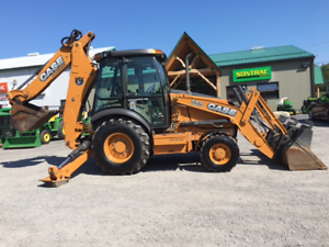 2014 CASE 580SN EXT BACKHOE - MFWD - LOW HOURS - NEW TIRES