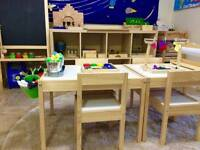 Tiny Sprouts French Montessori All Organic Home Daycare