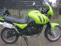 2002 TRIUMPH TIGER 955i MOTORCYCLE IN ORIGINAL GREEN PAINTWORK-MOTed TILL FEB.