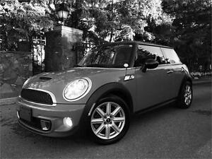 2012 Mini Cooper S Chrome Line Certified Must See $19.995.00