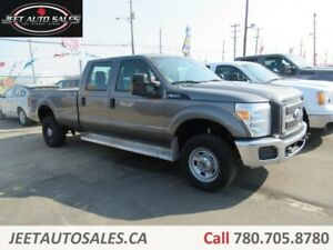 2012 Ford F-350 XL 4X4 Crew Cab Long Box