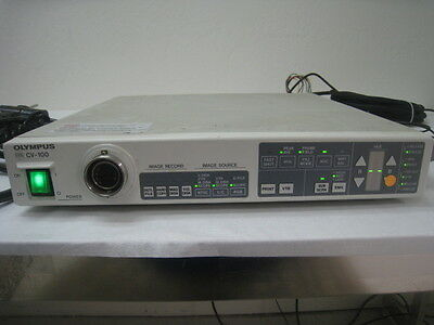 Olympus CV-100 Evis Video System Endoscopy Processor video and Olympus MJ-236