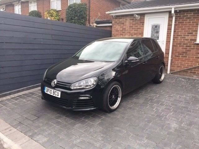 Volkswagen Golf 1.6 TDI BlueMotion Tech SE DSG 5dr R-LINE REPLICA IN BLACK
