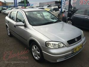 2001 Holden Astra TS CD Silver 5 Speed Manual Hatchback Lansvale Liverpool Area Preview
