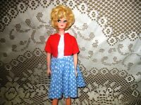 "11.5"" BLONDE MIDGE FASHION DOLL CLONE,FRECKLES,LASHES ORIG"