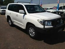 2008 Toyota Landcruiser VDJ200R GXL (4x4) White 6 Speed Automatic Wagon Berrimah Darwin City Preview
