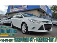2012 Ford Focus SE - Full - Synch - Inspecté - Financement
