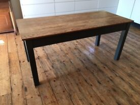 Vintage Pine Kitchen Table