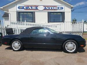 2002 Ford Thunderbird Convertible!! Two Tops!!