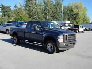 2008 FORD F-350 SUPER DUTY XLT EXTENDED CAB LONG BOX 4X4 DIESEL