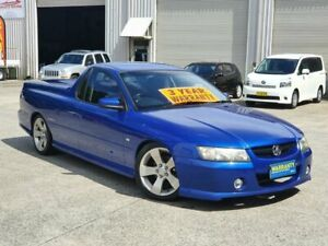 2006 Holden Ute VZ MY06 Thunder S Blue 4 Speed Automatic Utility Mayfield East Newcastle Area Preview
