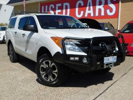 2013 Mazda BT-50 MY13 XT (4x4) White 6 Speed Automatic Dual Cab Utility Belconnen Belconnen Area Preview