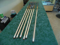 GW POOL CUES FOR SALE @ ABC EXCHANGE!!!