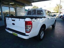2012 Ford Ranger PX XL 2.2 HI-Rider (4x2) White 6 Speed Automatic Crewcab Hamilton Newcastle Area Preview