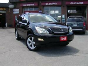 2007 Lexus RX350 - Loaded|Wood Trim and More...Finance Everybody