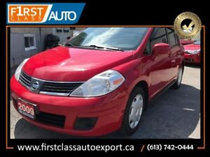 2009 Nissan Versa 1.8 S - Great On Gas! Reliable and Clean Car