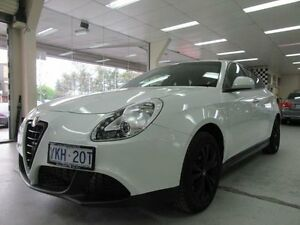 2014 Alfa Romeo Giulietta Distinctive White 6 Speed Manual Hatchback Fyshwick South Canberra Preview
