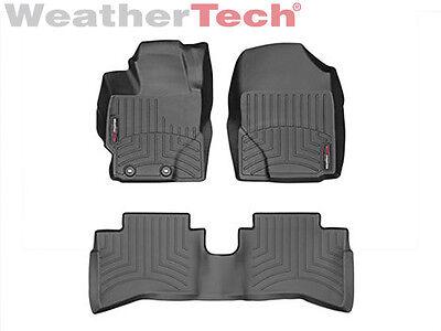 Weathertech Floor Mat Floorliner For Toyota Prius C   2012 2015   Black