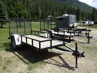 5x8 Utility Trailers Heavy Duty..Great For ATVs!