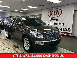 2012 Buick Enclave CXL,  1 Year Free Powertrain Warranty!!