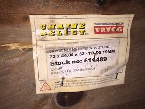 Brand New Trygg Skidder Chains Still In the Box! Prince George British Columbia image 1