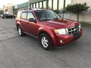 2012 FORD ESCAPE 4X4 4 CLY LEATHER, SUNROOF