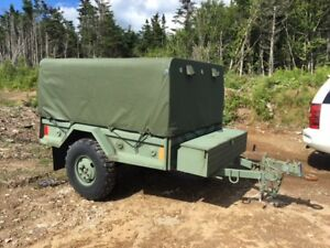 3/4 ton Canadian Military trailer