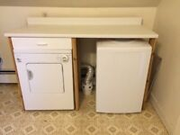 Portable/apartment washing machine and dryer