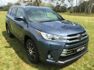 2017 Toyota Kluger GSU55R MY17 Grande (4x4) Cosmos Blue 8 Speed Automatic Wagon Sale Wellington Area Preview