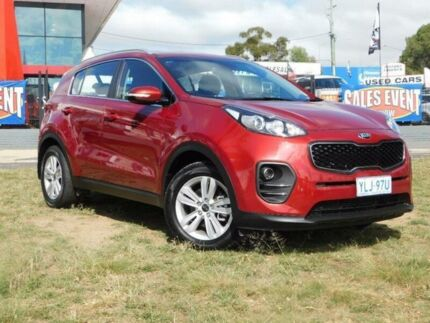 2016 Kia Sportage QL SI (FWD) Burgundy 6 Speed Automatic Wagon Belconnen Belconnen Area Preview