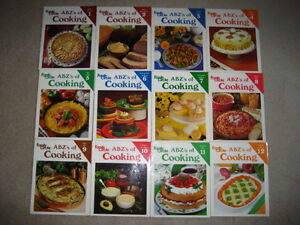 Family Circle ABZ's of Cooking (12 book set)