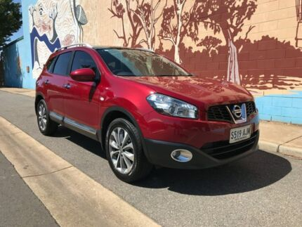 2011 Nissan Dualis J10 Series II MY2010 +2 Hatch X-tronic Ti 6 Speed Constant Variable Hatchback Thebarton West Torrens Area Preview