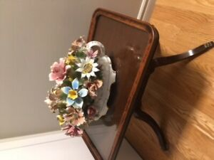 LOVELY - VERY OLD ANTIQUE LIVING ROOM SERVING TABLE
